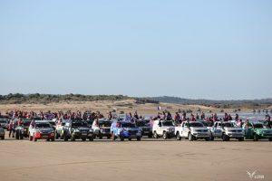 Arrivée officiel du Rallye Aïcha des Gazelles 2018